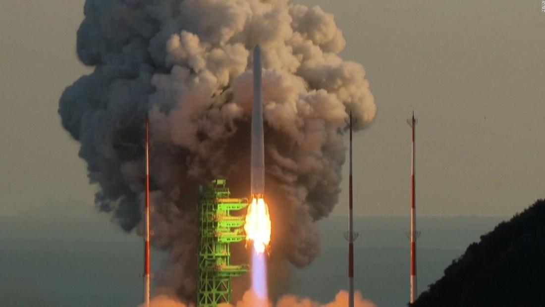 Intento fallido de poner en órbita un satélite ficticio