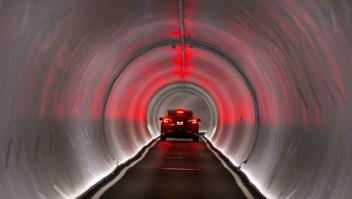 Así serán los túneles de Elon Musk bajo Las Vegas