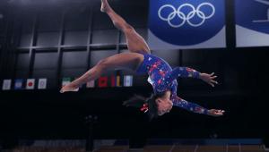 Biles y una conmovedora revelación sobre la gimnasia