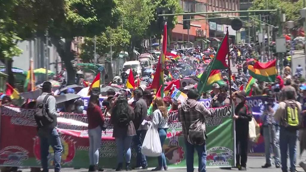 Nueva jornada de protestas en Bolivia