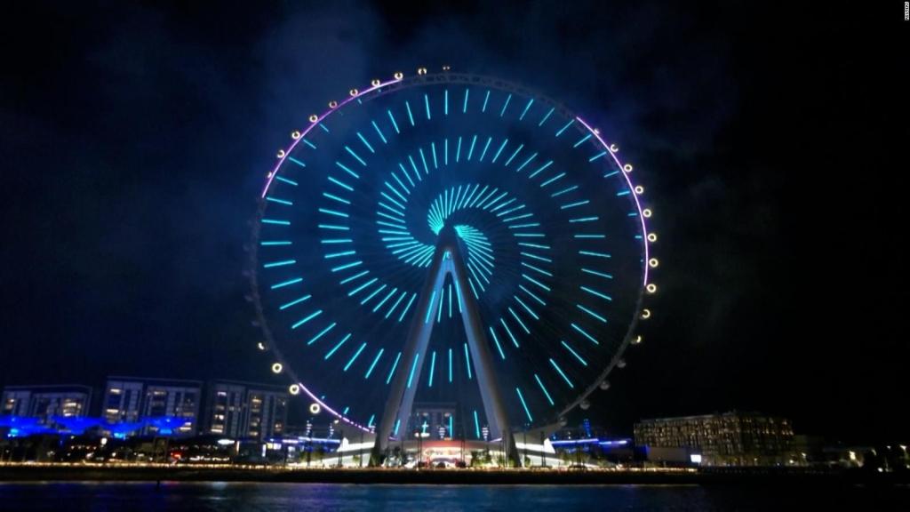 La rueda más grande abre en Dubai
