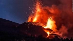 Lluvias previstas en La Palma podrían traer escorrentías