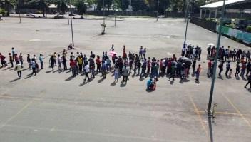 Migrantes reciben recomendación de no pasar por 2 estados