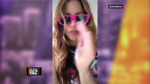 Shakira comparte su emoción en video tras recibir nominaciones a los MTV Europe Music Awards