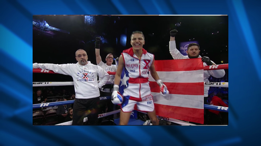 Xander Zayas, una de las nuevas caras del boxeo boricua