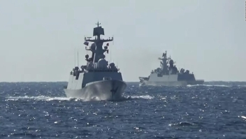 Primer patrullaje marítimo conjunto de Rusia y China