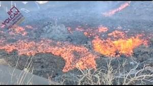 """""""Alfombra de lava"""" avanza en La Palma"""