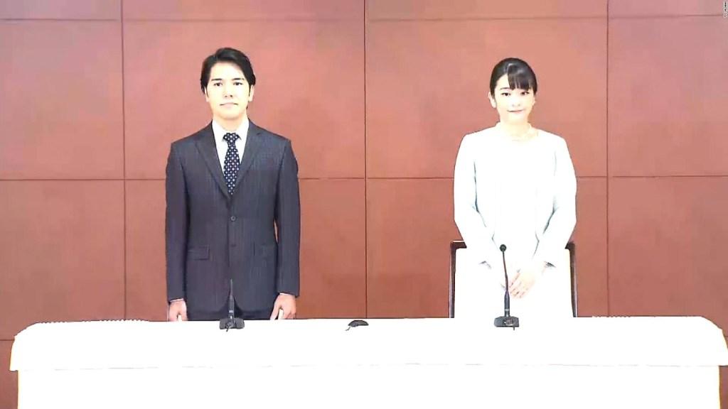 La princesa Mako de Japón se casa con un plebeyo