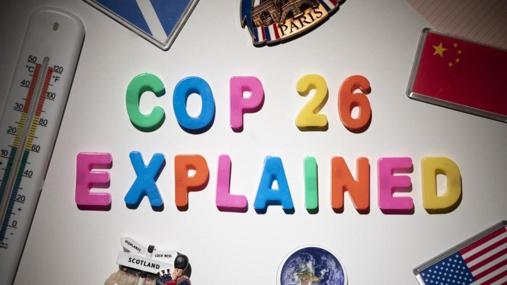 ¿Qué es la COP26? Te lo explicamos