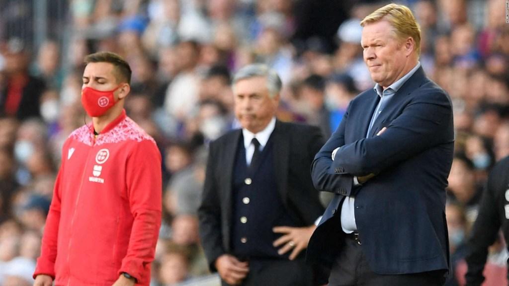 Koeman es agredido verbalmente y Ancelotti lo defiende