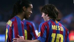 Messi y Ronaldinho: una amistad más allá del fútbol