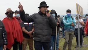Dirigente indígena niega intención de desestabilizar al Gobierno