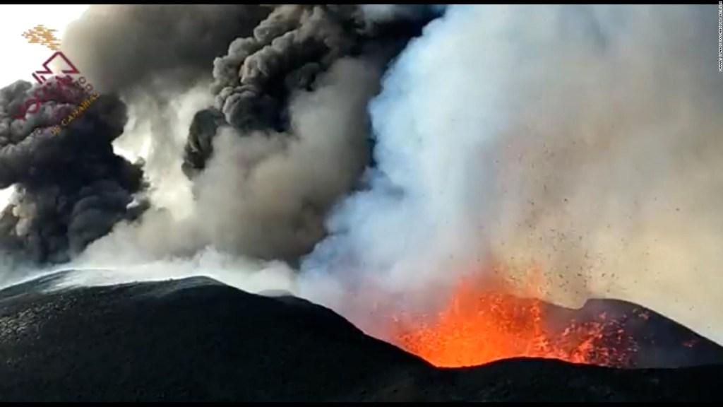 5 cosas: volcán de La Palma aumenta emisión de lava