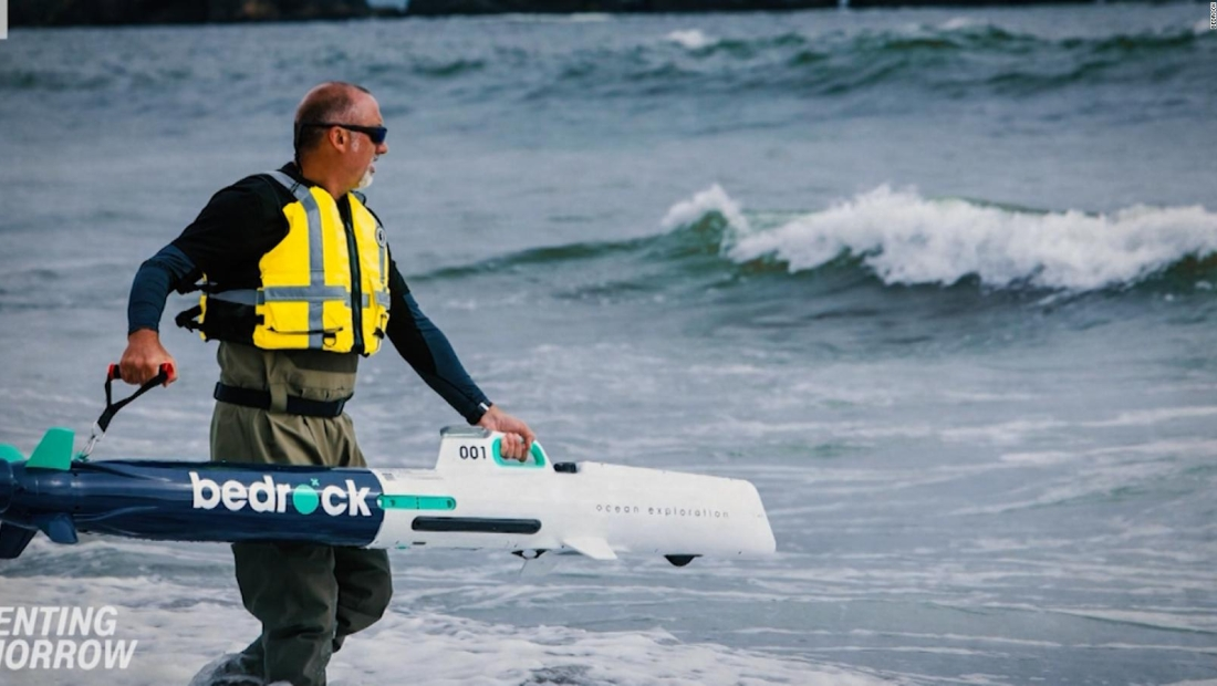 Nueva tecnología para la exploración del mar