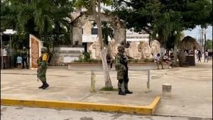 Tulum recibe 450 militares para reforzar su seguridad