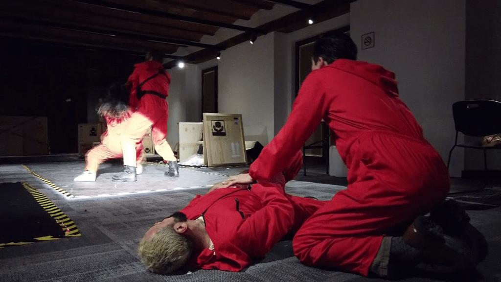 """Netflix recrea la experiencia inmersiva de """"La casa de papel"""""""
