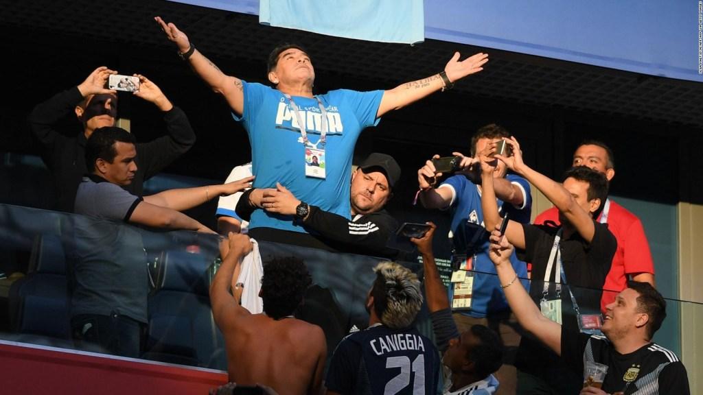 La historia de amor de Maradona y la selección argentina