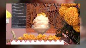 Celebra Día de Muertos con un helado sabor a cempasúchil