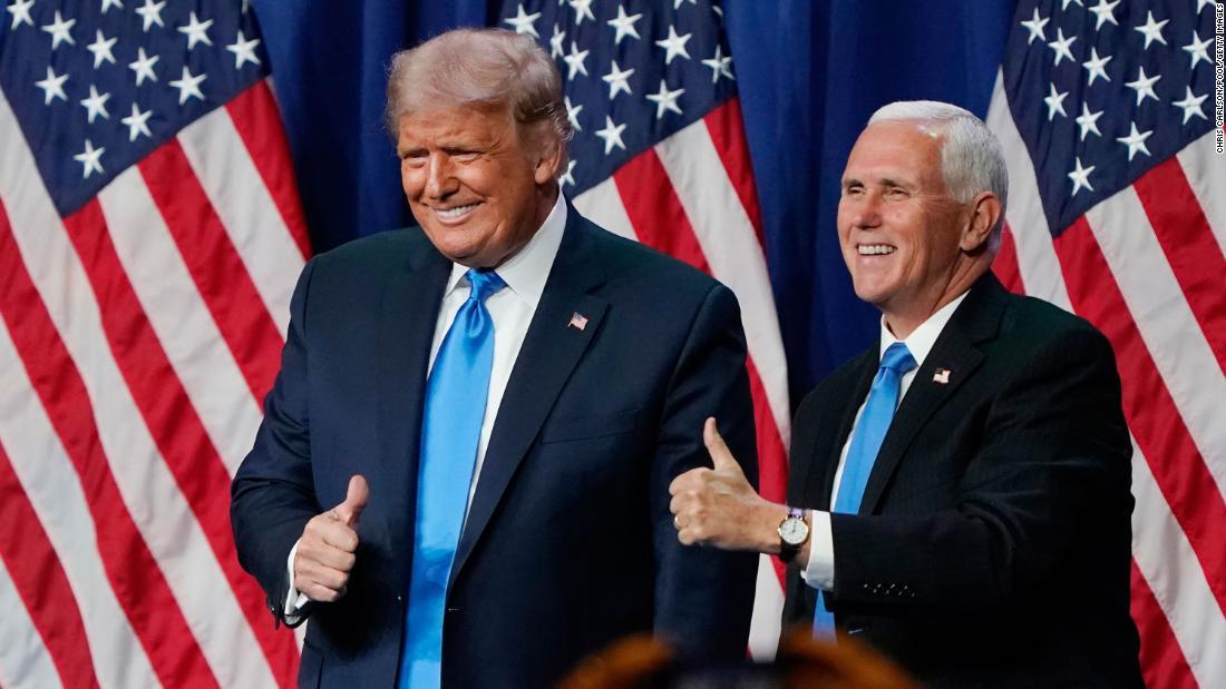 Pence Trump Capitolio