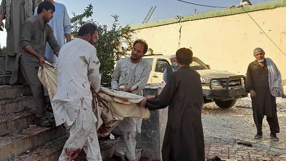Explosión en mezquita de Afganistán