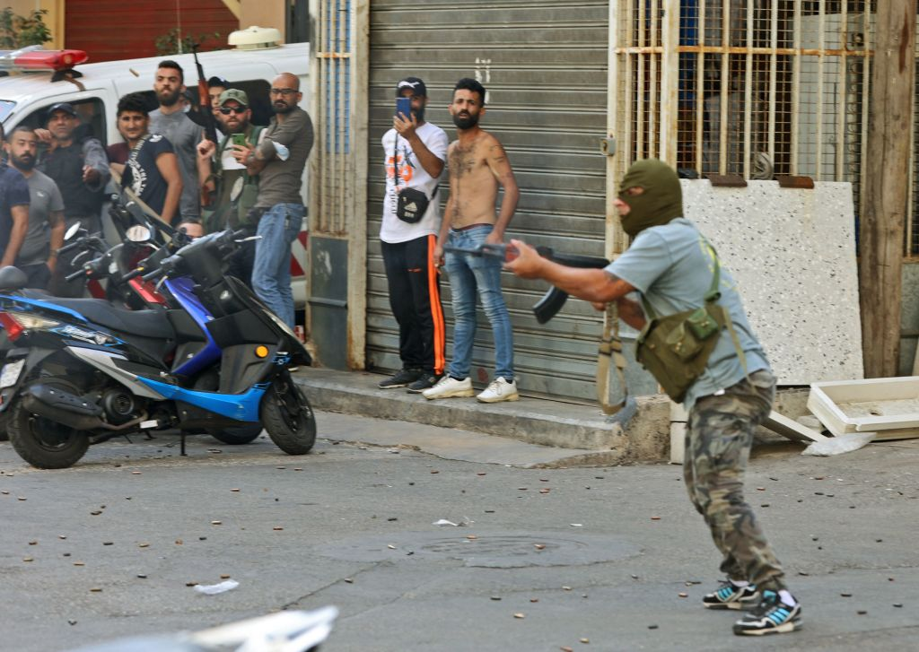 Protestas en Beirut: tiroteo deja varios muertos y heridos