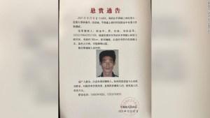 Ou Jinzhong ha estado prófugo durante más de una semana en China.