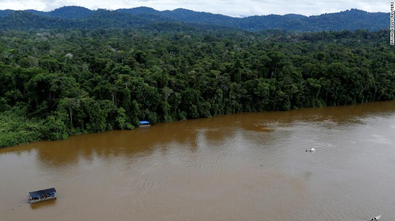 Brasil minería ilegal
