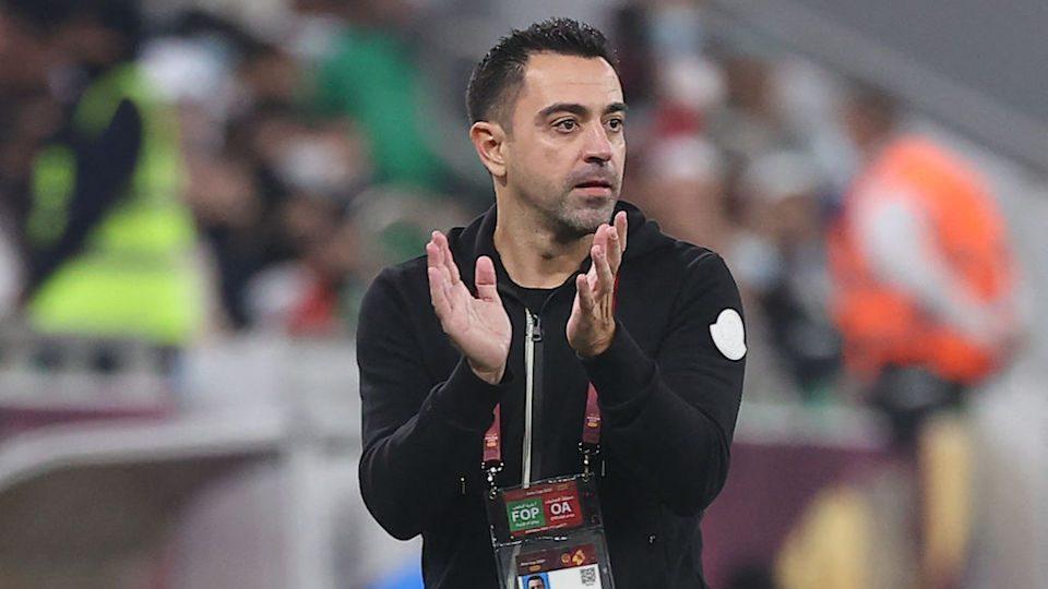 Barcelona Xavi Hernández