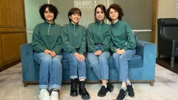 niñas afganas equipo robótica