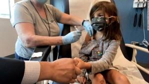 niños vacuna