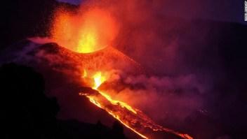 volcán España La Palma