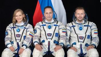 Cosmonautas rusos rumbo a la EEI