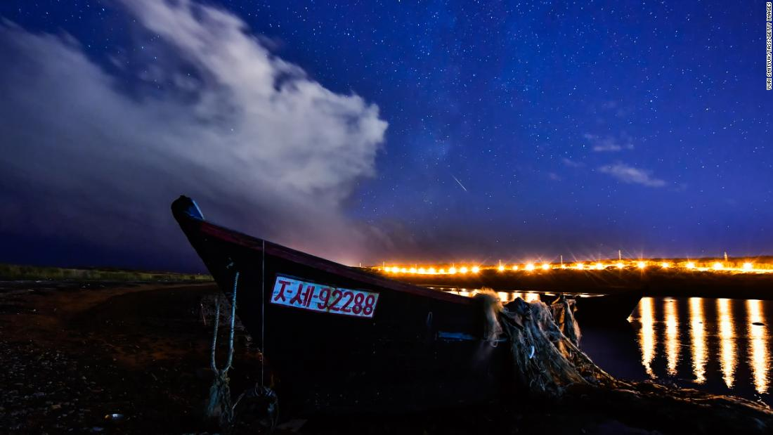 Lluvia de meteoros de las Dracónidas