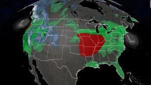Buena parte de Estados Unidos bajo alerta meteorológica