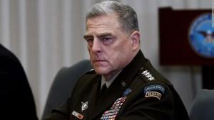 El general Mark Milley habló sobre la prueba hipersónica de China