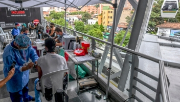 Covid Latinoamérica tasa vacunación