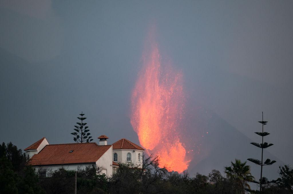 volcán La Palma ceniza viviendas evacuaciones Cumbre Vieja