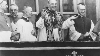 El papa Juan Pablo I reinó apenas 33 días.