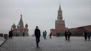 Rusia volvió a batir su récord de muertos por covid-19