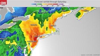 Se esperan fuertes tormentas para esta semana