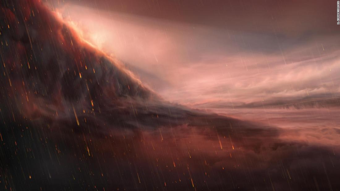 Planeta con lluvia de hierro es aún más extremo de lo que pensaban los científicos
