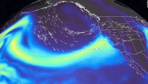 Río atmosférico de nivel 5 podría desatar inundaciones en una California afectada por la sequía