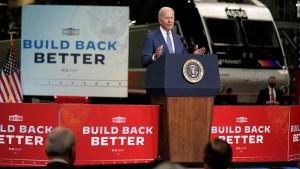 Biden se dirige a Europa con un poco menos de brillo y más trabajo por hacer