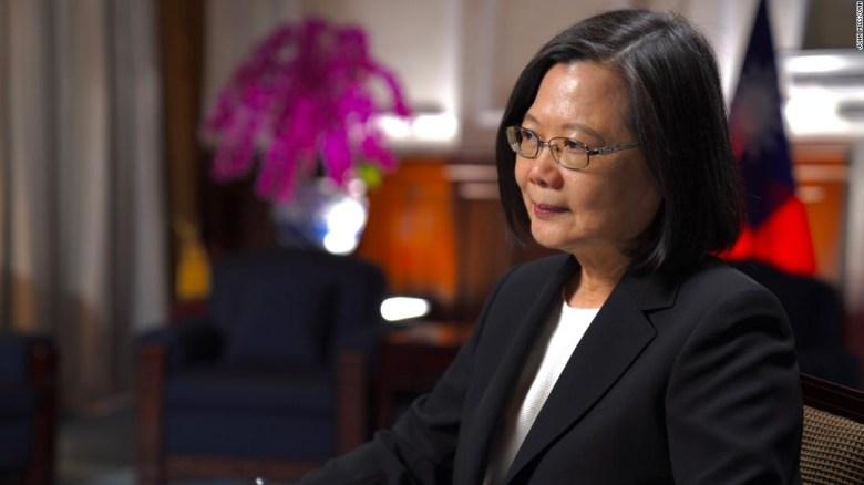 Exclusiva Taiwán Presidenta