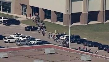 El tiroteo se produjo en una escuela de Arlington, Texas