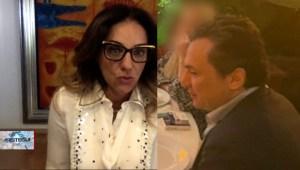 Lourdes Mendoza en Aristegui sobre fotos de Lozoya