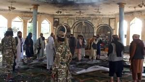 Explosión devasta una mezquita chiita en Afganistán