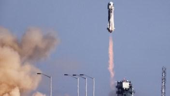 Mira cómo despegó el vuelo de Blue Origin