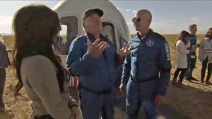 Casi en lágrimas, William Shatner relató su viaje al espacio